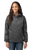 Women's Eddie Bauer Packable Wind Jacket Grey Steel Thumbnail