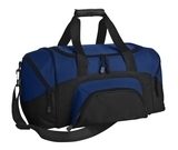 Improved Colorblock Small Sport Duffel True Royal with Black Thumbnail