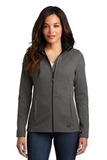 Women's OGIO Grit Fleece Jacket Diesel Grey Heather Thumbnail