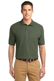 Extended Size Silk Touch Polo Shirt Clover Green Thumbnail