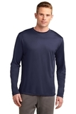 Competitor Long Sleeve Tee True Navy Thumbnail