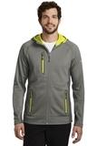 Eddie Bauer Sport Hooded Full-Zip Fleece Jacket Metal Grey with Grey Steel and Citron Thumbnail