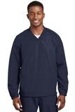 V-neck Raglan Wind Shirt True Navy Thumbnail