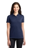 Women's 5-in-1 Performance Pique Polo True Navy Thumbnail
