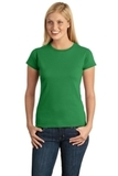 Women's Softstyle Ring Spun Cotton T-shirt Irish Green Thumbnail