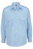 Men's Long-sleeve Navigator Shirt Blue Thumbnail