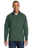 Sport-wick Stretch 1/2-zip Pullover Forest Green Thumbnail