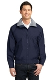 Competitor Jacket True Navy with Grey Heather Thumbnail