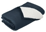 Mountain Lodge Blanket Navy Eclipse Thumbnail