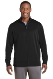 Sport-Wick Fleece Full-Zip Jacket Black Thumbnail