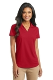 Women's Dry Zone Grid Polo Engine Red Thumbnail