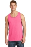 5.4 oz. 100% Cotton Tank Top Neon Pink Thumbnail