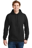 Ultimate Cotton Pullover Hooded Sweatshirt Black Thumbnail