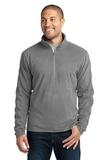 Microfleece 1/2-zip Pullover Pearl Grey Thumbnail