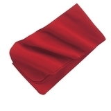 Extra Long Fleece Scarf Red Thumbnail