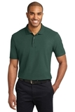 Stain-resistant Polo Shirt Dark Green Thumbnail