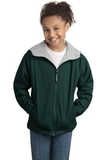 Youth Team Jacket Hunter with Light Oxford Thumbnail