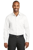 Red House Slim Fit NonIron Twill Shirt White Thumbnail