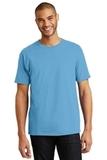 Tagless 100 Comfortsoft Cotton T-shirt Aquatic Blue Thumbnail