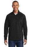 Sport-wick Stretch 1/2-zip Pullover Black Thumbnail