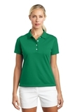 Women's Nike Golf Shirt Tech Basic Dri-FIT Polo Lucky Green Thumbnail