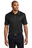 Performance Fine Jacquard Polo Shirt Black Thumbnail
