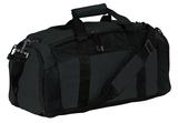 Port Company Improved Gym Bag Black Thumbnail