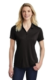 Women's Competitor Polo Black Thumbnail