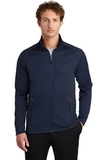 Eddie Bauer Smooth Fleece Base Layer Full-Zip River Blue Navy Thumbnail