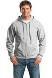 Full-zip Hooded Sweatshirt Ash Grey Thumbnail
