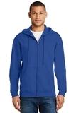 Full-zip Hooded Sweatshirt Royal Thumbnail