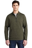 Triumph 1/4-Zip Pullover Olive Heather Thumbnail