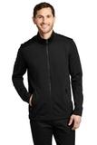 Grid Fleece Jacket Deep Black Thumbnail