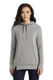 Women's OGIO Luuma Pullover Fleece Hoodie Petrol Grey Heather Thumbnail