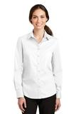 Women's SuperPro Twill Shirt White Thumbnail