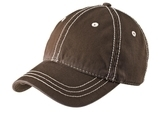 Thick Stitch Cap Chocolate Brown with Stone Thumbnail