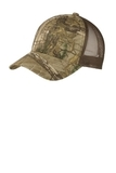 Structured Camouflage Mesh Back Cap Realtree Xtra with Brown Thumbnail