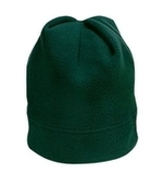 Stretch Fleece Beanie Dark Green Thumbnail