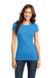 District Juniors Very Important Tee Heathered Bright Turquoise Thumbnail