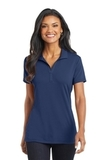 Women's Cotton Touch Performance Polo Estate Blue Thumbnail