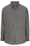 Men's Button Down Poplin Shirt LS Titanium Thumbnail