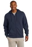 Full-zip Hooded Sweatshirt True Navy Thumbnail