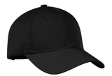 Nylon Twill Performance Cap Black Thumbnail