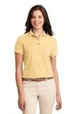 Women's Silk Touch Polo Shirt Banana Thumbnail