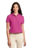 Women's Silk Touch Polo Shirt Tropical Pink Thumbnail