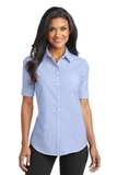 Women's Short Sleeve Superpro Oxford Shirt Oxford Blue Thumbnail