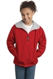 Youth Team Jacket Red with Light Oxford Thumbnail