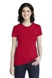 Women's Fine Jersey T-Shirt Red Thumbnail