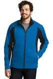 Eddie Bauer Trail Soft Shell Jacket Expedition Blue with Black Thumbnail