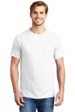 Beefy-t 100 Cotton T-shirt With Pocket White Thumbnail